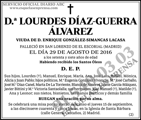 Lourdes Díaz-Guerra Álvarez